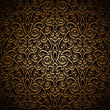Vintage gold pattern Royalty Free Stock Photography