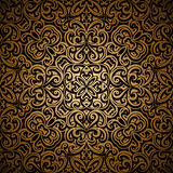 Vintage gold pattern Stock Photo