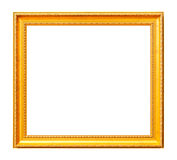 Vintage gold photo frame Royalty Free Stock Photo