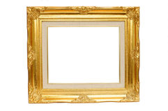 Vintage gold picture frame Royalty Free Stock Photo