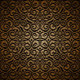 Vintage gold seamless pattern Royalty Free Stock Photography