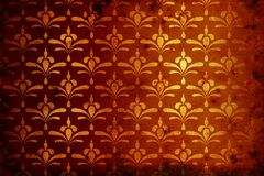 Vintage golden background Royalty Free Stock Photos