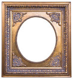 Vintage golden frame Royalty Free Stock Photos