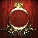 Vintage golden frame Royalty Free Stock Images