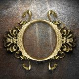 Vintage golden frame Royalty Free Stock Photography