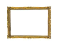 Vintage golden frame Stock Photography