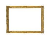 Vintage golden frame stock photography