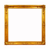 Vintage golden frame with blank space Royalty Free Stock Photography