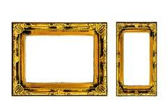 Vintage Golden Frame, Border Frame stock photo