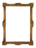 Vintage golden picture frame Stock Images