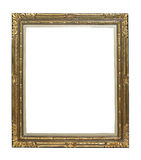 Vintage golden picture frame Royalty Free Stock Images