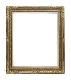 Vintage golden picture frame Royalty Free Stock Images