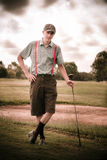 Vintage Golf Stock Photography