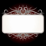 Vintage gothic sign Stock Photography