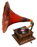 Vintage gramophone Stock Images