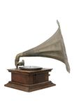 Vintage gramophone. Old vintage gramophone music retro Stock Photo
