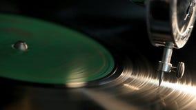 Vintage Gramophone stock video footage