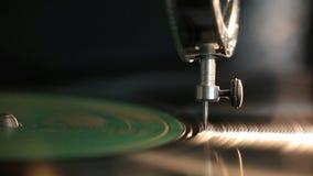 Vintage Gramophone stock footage