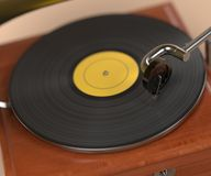 Vintage gramophone Royalty Free Stock Photo