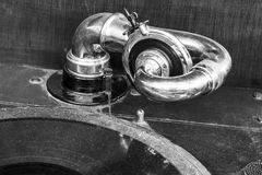 Vintage Gramophone Phonograph Closeup With Turntable and Needle II Royalty Free Stock Photography