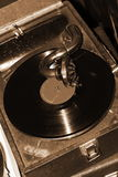 Vintage gramophone player Royalty Free Stock Photography