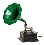 Vintage gramophone record player Royalty Free Stock Image