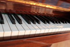 Vintage grand piano royalty free stock images