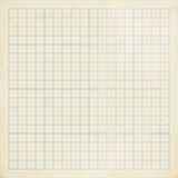 Vintage graph paper Stock Image