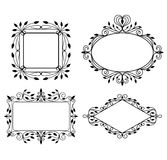 Vintage graphic frames Royalty Free Stock Photo