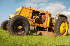 Vintage grass mower Royalty Free Stock Image