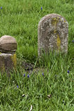 Vintage Grave Stones Royalty Free Stock Photography