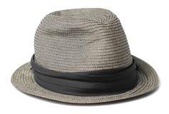 Vintage Gray Hat Foto de archivo