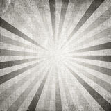 Vintage gray rising sun or sun ray Stock Images