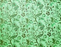Vintage green background stock photography