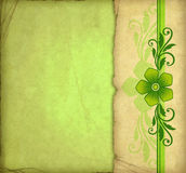 Vintage Green Background Royalty Free Stock Photography