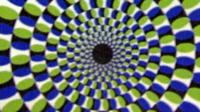 Vintage Green Blue Whirlpool Spiral  Animation Background stock video footage