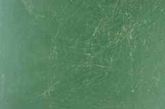 Vintage green chalk board background texture for design element. Chalkboard blackboard. Green chalk board texture empty blank with chalk traces Stock Photo