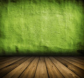 Vintage green interior Royalty Free Stock Photo