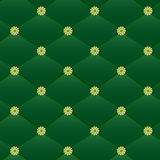 Vintage green leather pattern. Stock Photography