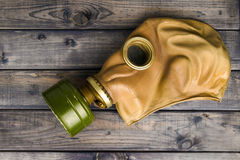 Vintage green mask Stock Photography