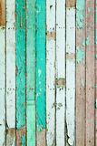 Vintage green painted wooden Royalty Free Stock Image