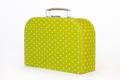 Free Vintage Green Polka Dot Lunchbox Stock Photos - 20169533