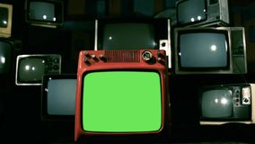 Vintage Green Screen Tv. Vintage Green Screen TV, Ready to replace green screen with any footage or picture you want. You can do it with Keying. Zoom in. Full stock video footage
