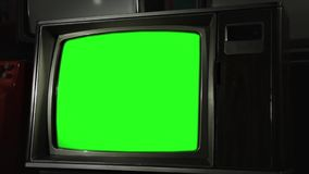 Vintage Green Screen Tv. Vintage Green Screen TV, Ready to replace green screen with any footage or picture you want. You can do it with Keying. Zoom in. Full stock footage