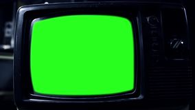 Vintage Green Screen Tv. Vintage Green Screen TV, Ready to replace green screen with any footage or picture you want. You can do it with Keying. Zoom in. Full stock video
