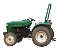 Vintage green tractor Stock Photography