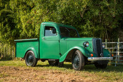 Vintage Green Truck Stock Images