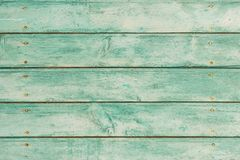 Old rustic green weathered wood texture backdrop Royalty Free Stock Photography