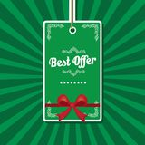 Vintage green vector background Royalty Free Stock Image