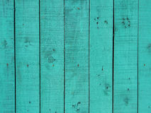 Vintage green wood board background texture Royalty Free Stock Photography